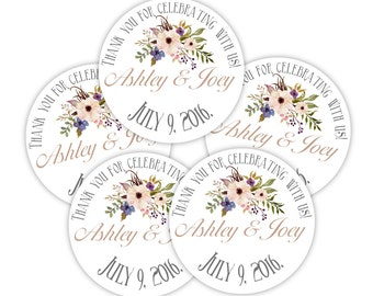 """48 1.5"""" Circle Round Hang Tags -  completely custom design included - on brown bag kraft or white - merchandise tags, item hang tags"""