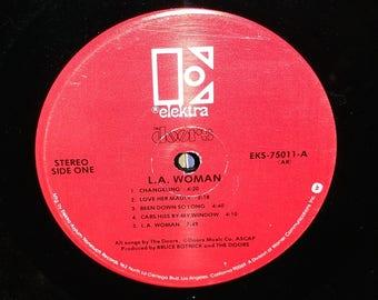 The Doors L.A. Woman Vintage Vinyl Album No Jacket