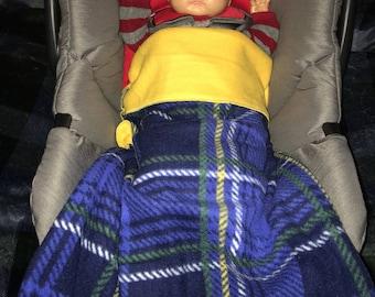 Plaid BabyRoo Car Seat Pouch