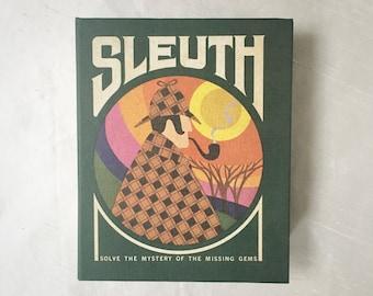 "Retro ""Sleuth"" Card Game"