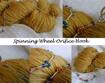 SOMETHING SIMPLE Spinning Wheel Orifice Hook