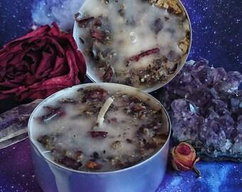 Altar Candle: Planetary II Collection ~ Stellar ~ II Ritual candle I candle I