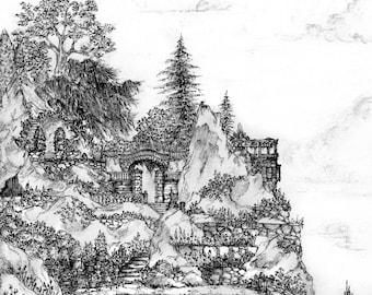 Sky Garden (Art Print)