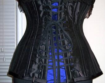 Custom Silk Edwardian Corset