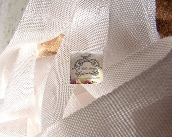 Rayon Seam Binding Ribbon Winter White