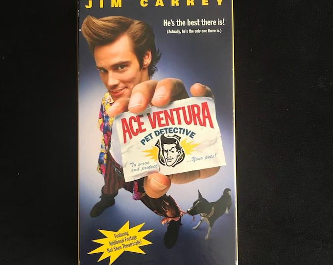 ACE VENTURA 1990's Vintage Movie VHS