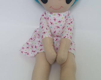 Fabric Doll, Handmade Rag Doll, Cloth Doll, Soft Doll