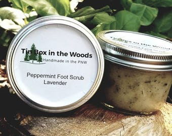 Lavender Peppermint Foot Scrub