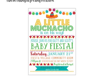 Fiesta Hat 4x6 or 5x7 digital you print your own- Design 238