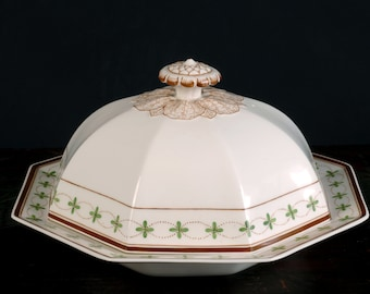 Whitefriars, James Powell & Sons, Wedgwood, Covered Serving Dish