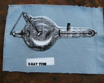 x-ray tube patch 5x7