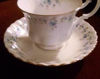 royal albert memory lane cup and saucer