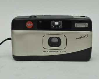 Leica Mini III Point and Shoot Camera with case