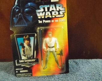 Star Wars Power of the Force Luke Skywalker 1990's Kenner