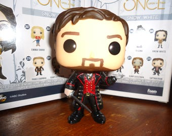 Once Upon a Time Captain Hook Camelot Custom Funko
