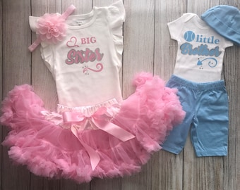 Big Sister Little Brother Outfit - Matching Sibling Outfits - Sibling Outfits - Big Bro Little Sis