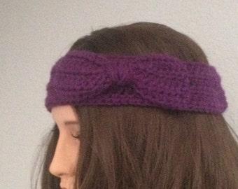 Adjustable Bow Headband