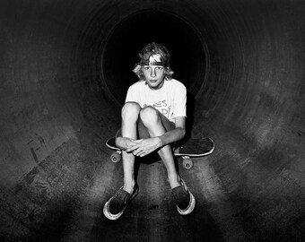Tony Hawk Portrait - 18X24 Inches - Skateboard Photography - Limited Edition Archival Skateboard Print