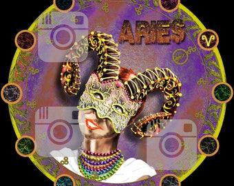 Aries (Zodiac Goddess) t-shirt