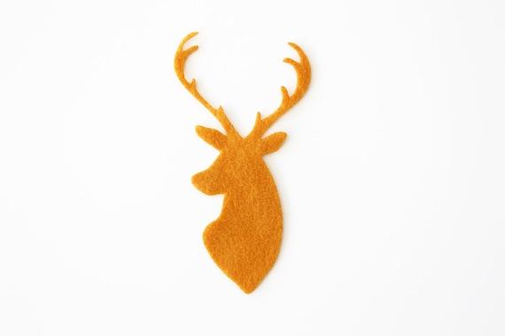 Felt reindeer felt cut outs felt deer felt animals felt publicscrutiny Gallery