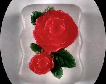Fresh Cut Rose Soap, Rose Soap, Scented Glycerin Soap,