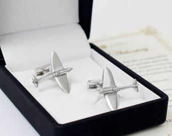Real Spitfire Cufflinks
