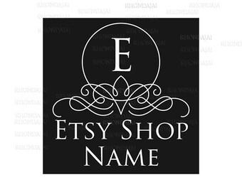 Shop Logo - Etsy Branding - Etsy Store Branding - Shop Icon - Etsy Shop Icon - Calligraphy Logo Style 2