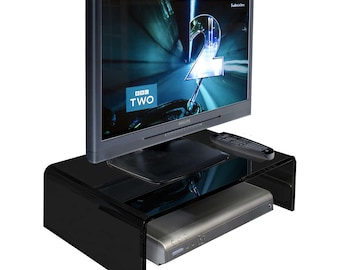Acrylic Tv/Monitor Riser | Monitor Stand | Tv Unit Various Sizes