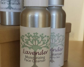 Hydrating Face Cleanser/ Lavender/ Karma or Bliss Scents All Natural