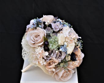 Oversized Vintage Cream & Champagne Bouquet