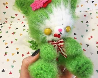 Zombie Kitty - Creepy Cute - Amigurumi - Crazy Cat Lady - Goth - Undead - Walking Dead