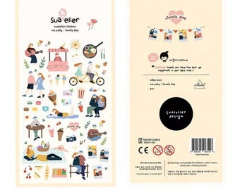 Stickerset by Suatelier-Lovely Day