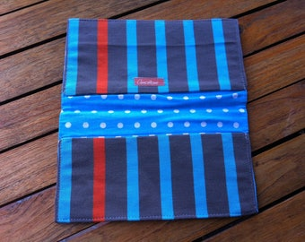 Protects fabric checkbook colorful Deckchair fabric