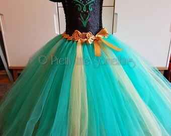 Anna Tutu Dress Deluxe Dressgreen Pageant Birthday Ball