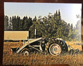 Tractor Note Card