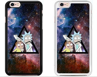 Rick and Morty Case Cover iPhone 4 5 6 7 8 X Samsung S3 S4 S5 S6 S7 S8 Plus Edge Note Sony Xperia Z3 Z4 Z5 LG G4 G5 G6