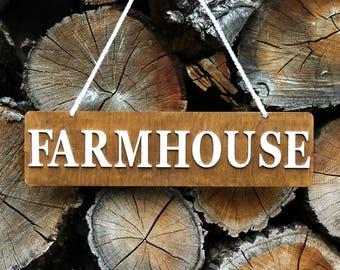 Farmhouse Sign, Farmhouse Decor, Farmhouse Kitchen, Farmhouse Signs, Wooden Sign, Custom Wood Sign, Kitchen Sign, Framed Wood Sign farm sign