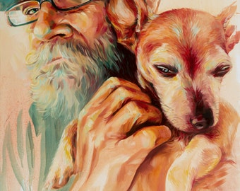 James and Charley_Artist's Giclee Print 2015