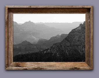 Grand Canyon Black & White Photo / Grand Canyon Photo / Grand Canyon Print / Grand Canyon National Park Gifts /Fine Art / Nature Photography