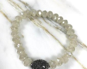 Stackable Bracelets + Erimish Inspired + Stacks + Bracelets + Bridesmaid Gift + Boho + Boho Jewelry + Stretchy Bracelet + Beaded Bracelet