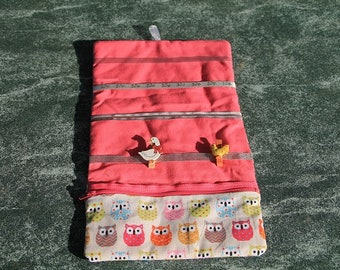 Storage for snapped barrettes or hair clips and elastics