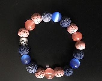 Coral in the Sea Diffuser Bracelet