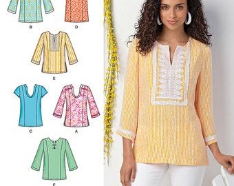 Simplicity Pattern 1461 Misses' & Plus Size Tunic