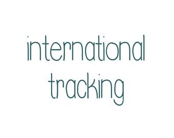 Internationale verfolgt Post für Ihren Druckauftrag