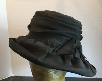 Black Betmar Hat with Bow