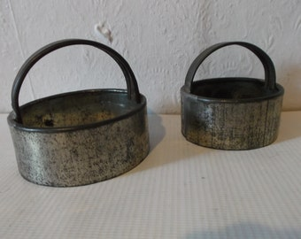 Antique English Tin Biscuit Cutters Circa 1890s