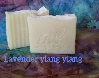 Lavender ylang ylang soap