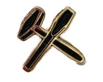 Masonic Tools Lapel Pin, Freemason Tools lapel Pin, Freemasonry Tools Lapel Pin