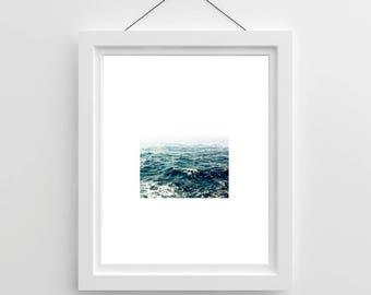 Sea Print with Large Border