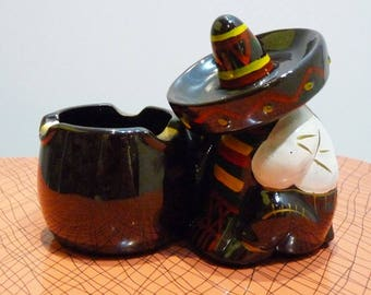 Mexican vintage 1960's ashtray